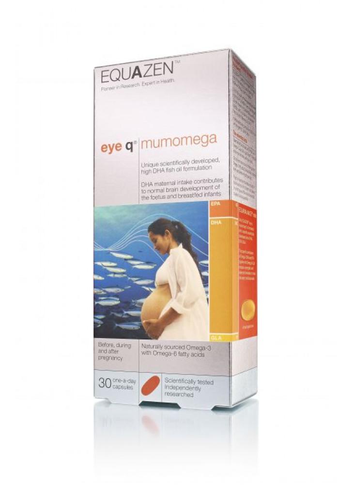 Equazen MumOmega DHA-rich Fish Oil Capsules N30