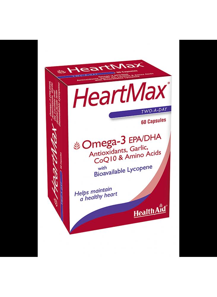 HeartMax Capsules - HealthAid, Omega 3 EPA/DHA 60 caps