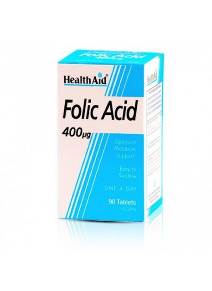 HealthAid Folic Acid 400mg, N90