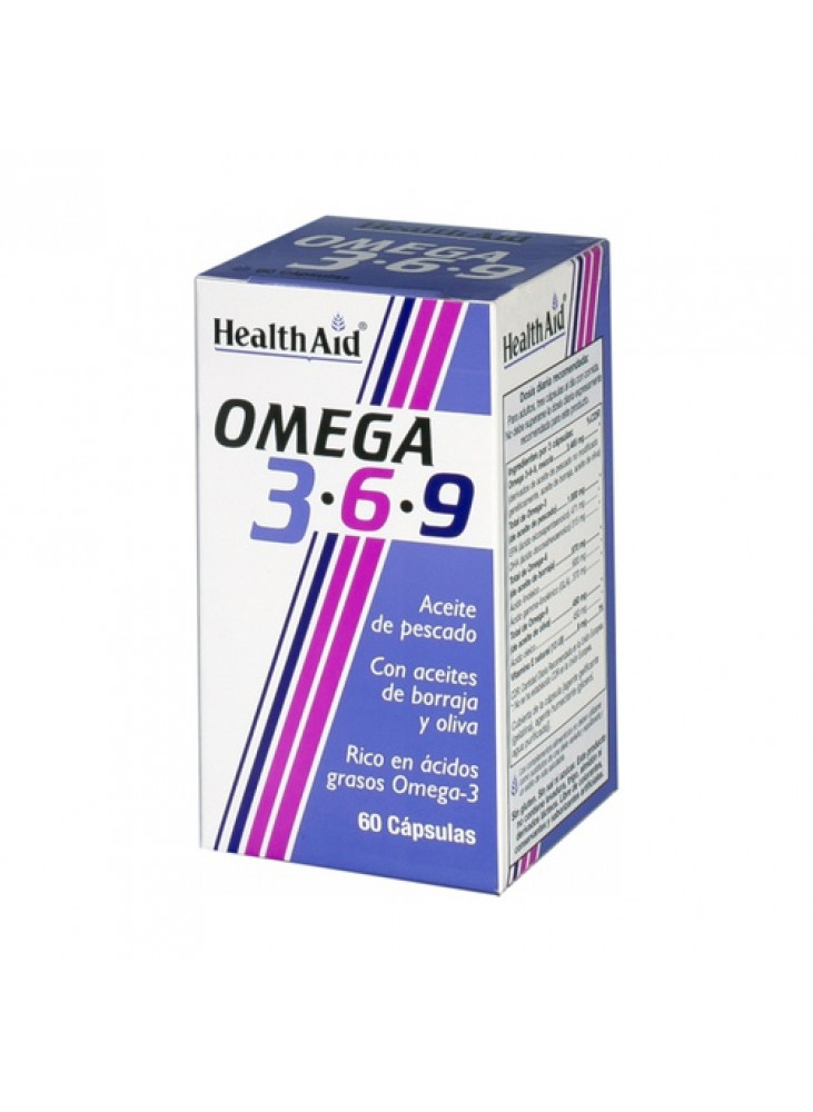 HealthAid Omega 3 - 6 - 9 Capsules, N60
