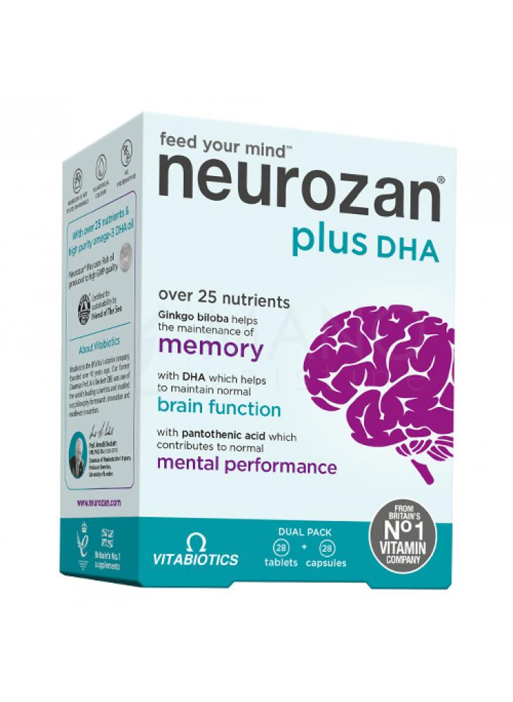 Vitabiotics Neurozan Plus - 28 Tablets + 28 Capsules