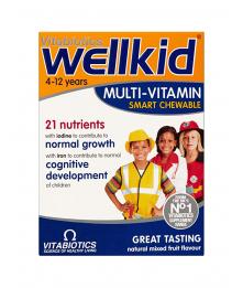 Wellkid Multi-vitamin Smart Chewable Tablets, N30