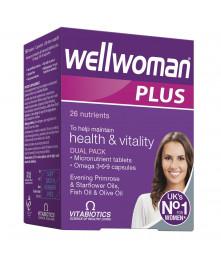 Wellwoman Plus, N56 (28 capsules ir 28 tablets)